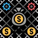 Capital Money Investment Icon
