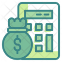 Capital Cost Budget Icon