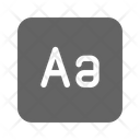 Capital Letter Type Icon