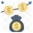 Capital Profit Stock Icon