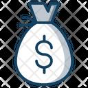 Dollar Bag Money Sack Dollar Sack Icon