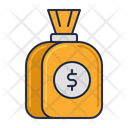 Capital Money Bag Money Sack Icon