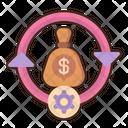 Capital Moneybag Dollar Bag Icon