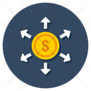 Capital Outflow Icon