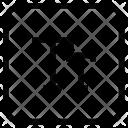 Capital Text Icon