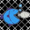 Capitalism Corruption Fish Icon