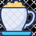 Cappuccino Barista Cup Icon