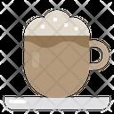 Cappuccino Cafe Coffee Icon