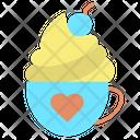 Icoffee Wip Cream Cappuccino Coffee Cream Coffee Icon