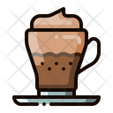 Cappuccino Coffee Latte Icon