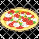 Caprese Salad Dish Cheese Salad Icon