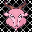 Capricorn Symbol Icon