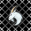 Capricorn Zodiac Sign Goat Capricorn Icon