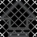 Up Arrow Arrow Key Icon