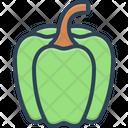 Capsicum Chilli Delicious Icon