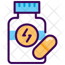 Capsule Drugs Nutrition Icon