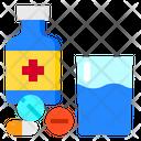 Capsule Drug Medicine Icon
