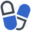 Capsule Drugs Medication Icon