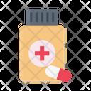Capsule Drugs Medicine Icon