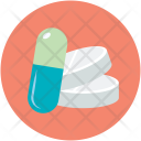 Capsule Medication Medicine Icon