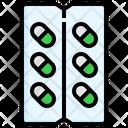 Capsule Medicine Drugs Icon
