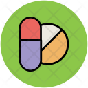 Capsule Tablet Medicine Icon