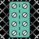 Capsule Blister Capsule Strip Pills Strip Icon