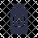 Capsule Bottle Icon