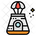 Capsule Space Transportation Icon