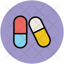 Capsules Drugs Medicine Icon