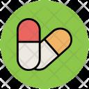 Capsules Medicine Drugs Icon