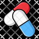Capsules Drugs Pharmacy Icon
