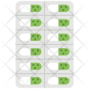 Capsules Strip Tablets Icon