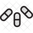 Capsules Medication Medicine Icon