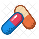 Icon Capsules Medicne Health Icon