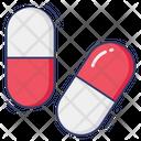 Capsules Drugs Pills Icon