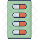 Capsules Blister Pack Icon