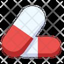 Capsules Medicine Pills Icon