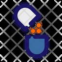 Capsules Broken Capsules Drugs Icon