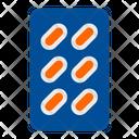Capsules Strip Icon