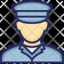 Captain Coast Guard Marine Corp Icon