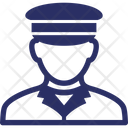 Captain Coast Guard Marine Corp Icon