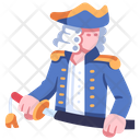 Male Captain Sailor Icon