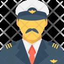 Sergeant Pilot Captain Icon