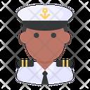 Captain Sailor Profession Icon