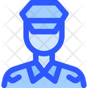 Airport Flight Captain Icon