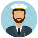 Captain Man Avatar Icon