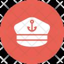 Captain Ship Sail Icon