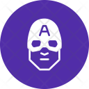Captain America Superhero Icon