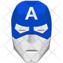 Captain America Face Icon